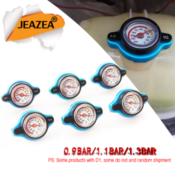 0. 9Bar/1. 1Bar/1.3Bar tapa de radiador de carreras de temperatura cubierta de seguridad de tanque de medidor de agua