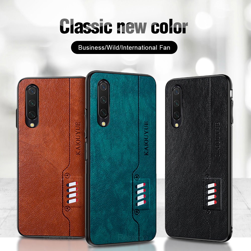 Кассета кожаный чехол для телефона Xiaomi Mi A3 CC9e CC9 Pro мягкий TPU чехол на Mi A 3 mia3 miia 3 micc9 micc9e micc9pro cc9pro funda