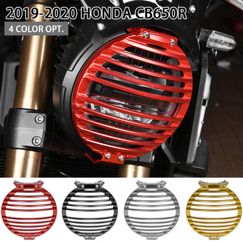 CB 650R Motorcycle Part Front Headlight Grill Cover Protector For Honda CB650R 2019 2020 Head Lamp Cover Protective Guard Grille