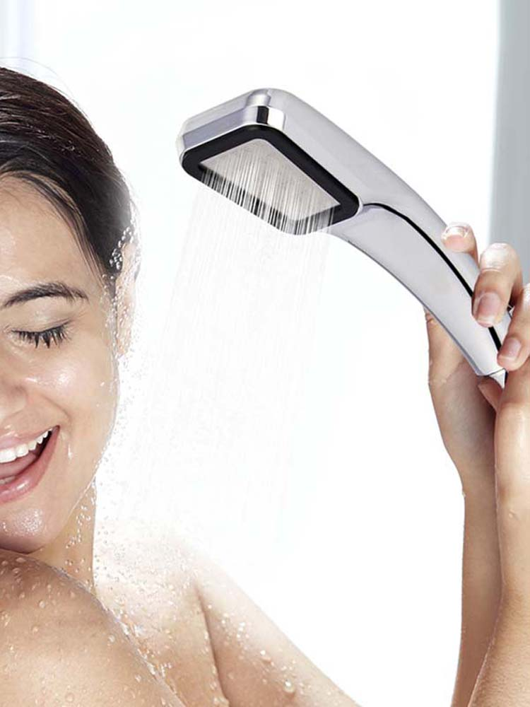 Shower-Head Spray Nozzle WATER-SAVING-FILTER Pressure-Rainfall 300-Holes High-Quality