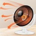 Мини домашний обогреватель инфракрасный 220 В 220 Вт Портативный электрический воздушный обогреватель теплый вентилятор 220*205 мм настольный д...