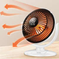 Mini Home Heater Infrared 220V 220W Portable Electric Air Heater Warm Fan 220*205MM Desktop for Winter Household Bathroom
