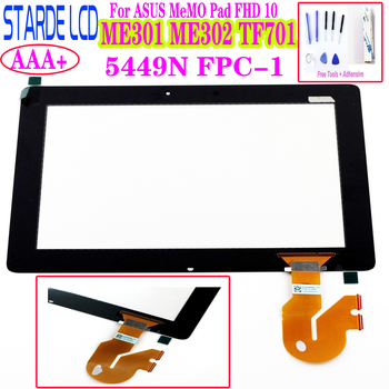 10.1 For Asus MeMO Pad FHD 10 ME301 ME302 ME302C ME302KL K005 TF701T TF701 Touch Screen Digitizer 5449N FPC-1 K00C Parts image