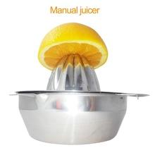 Mini Juicer Handhold Fruit Orange Lemon Juice Maker Stainless Steel Manual Press Squeezers Citrus Juicers Mini Home Appliances