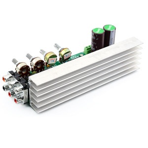 Image 3 - UNISIAN TDA2030 5.1 Channel  Audio Amplifier Board 6*18W 6 channels Surround Center Subwoofer Power Amplifiers For Home Theater