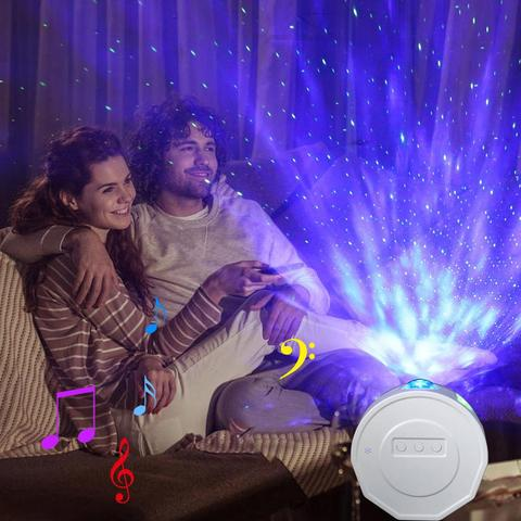estrela noite luz laser onda oceano ferias