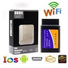 Dla Android IOS Windows Elm 327 V1.5 Bluetooth/Wifi V1.5 Mini Bluetooth PIC18F25K80 układu automatyczne narzędzie diagnostyczne OBDII