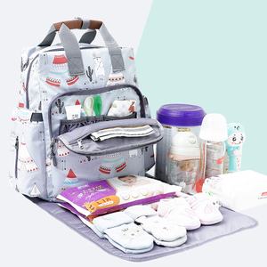 Image 4 - Alameda рюкзак для подгузников, большая сумка для мам, дорожная сумка для подгузников, органайзер для коляски, уход за ребенком на открытом воздухе