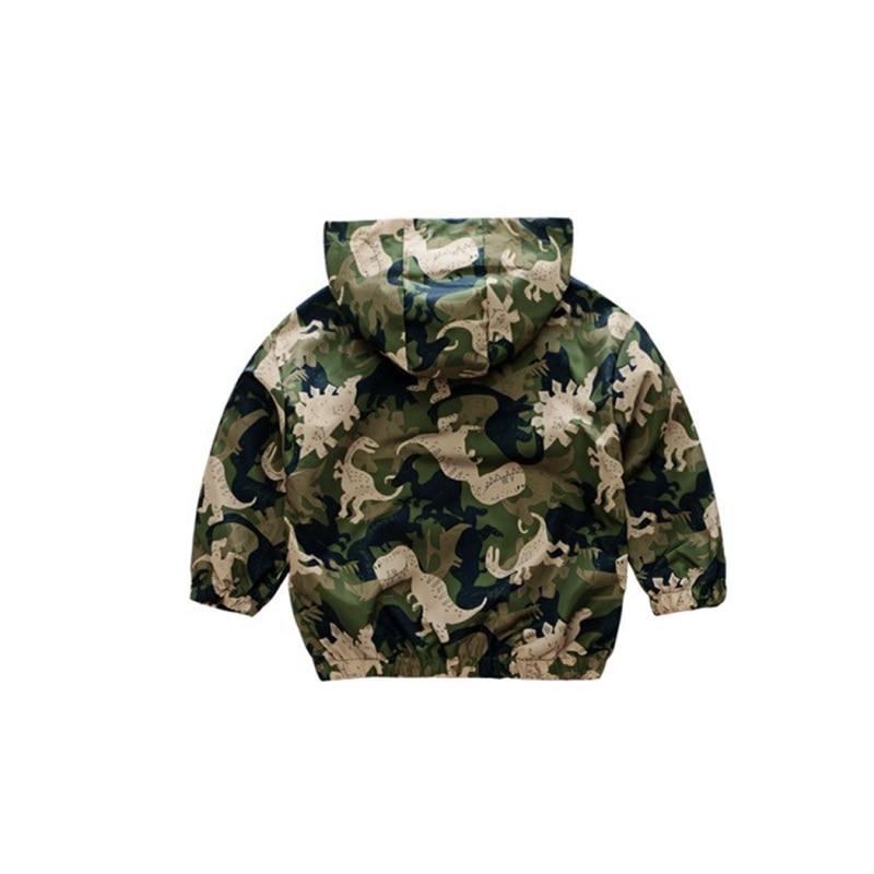 CROAL CHERIE  Fall Outerwear Coats Boys Kids Girls Jacket Cute Dinosaur Children Clothing Casual Baby Spring Jacket 80-130cm (22)