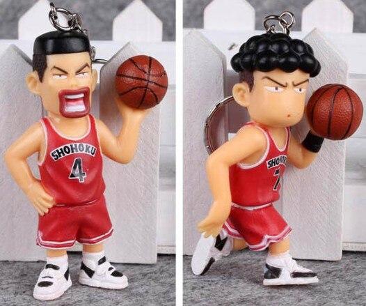 Купить брелок с аниме slamdunk 5 шт/лот фигурки игрушек slam dunk super