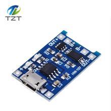 Tarjeta de carga de batería de litio, módulo de cargador + funciones duales de protección, 5V, 1A, Micro USB 18650, 50 Uds. Envío Gratis