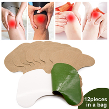 Sumifun 12pcs Herbal Knee Plaster Wormwood Extract Relieving Knee Joint Ache Rheumatoid Arthritis Medical Patch D2140 arthritis cervical medical plaster shoulder knee joint ache pain relieving sticker body massage patch health care c1614