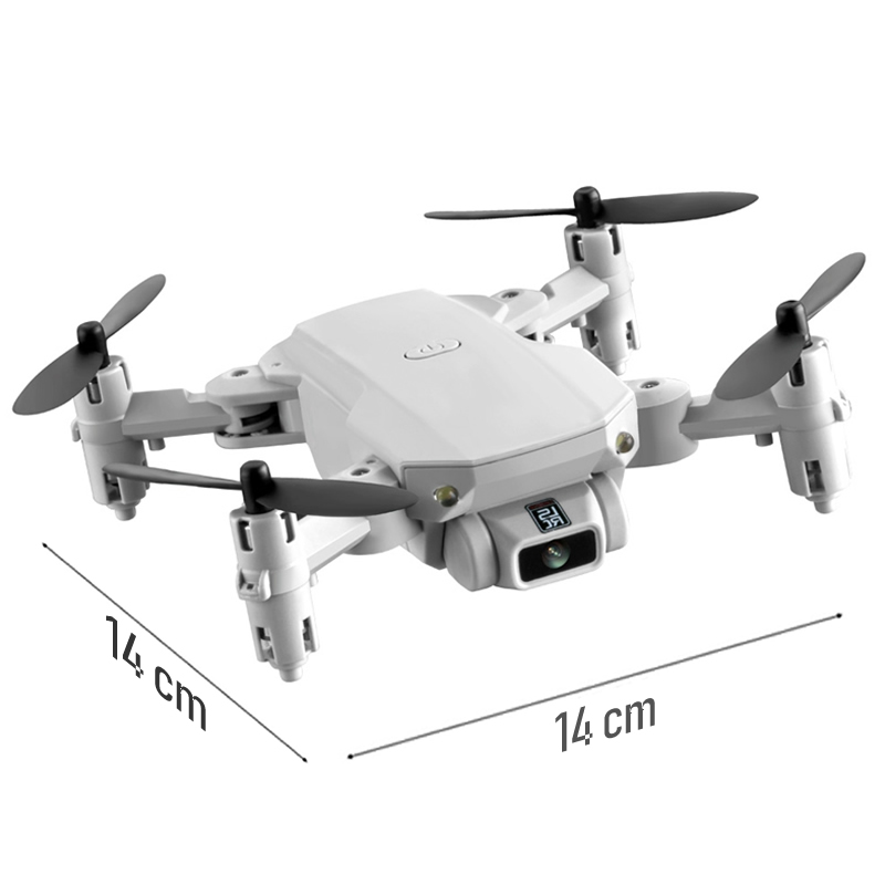 Mini RC Drone with 4K HD Camera WiFi FPV UAV Aerial Photography Helicopter Foldable LED Light Quadrocopter Quality Toy AOSST 2