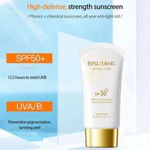 Facial Body Sunscreen SPF50+ Whitening Skin Protective Isolation Cream Moisturizing Anti-Aging Oil-control UV Protection TSLM1