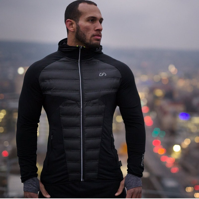 Winter Sports Men's Parkas Warm Windproof Couple Outdoor Jackets Breathable Thick Hooded Coat Full Zip Slim Gym Wear For Autumn