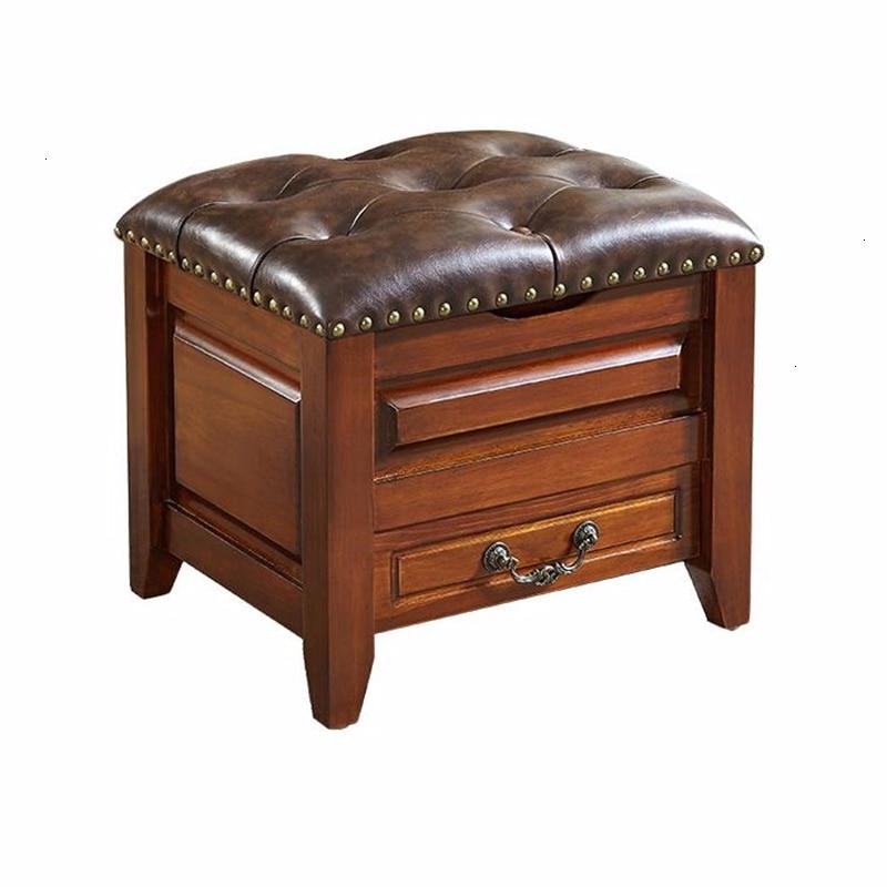 Kid Vestidor Step Pufa Do Siedzenia Storage Stool Nordic Furniture Vanity Almacenaje Taburete Ottoman Sgabello Tabouret Chair