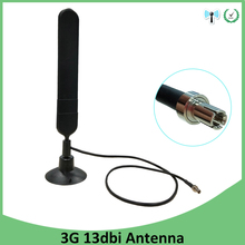 цена на Eoth 4G LTE Antenna 3G 4G Antenna TS9 13dbi 4G router modem antenna with 0.5m cable for Huawei 3G 4G Modem Mifi Router