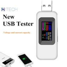 10 в 1 USB тестер DC цифровой вольтметр amperimetro как ток напряжения метр вольт ампер амперметр детектор питания банк зарядное устройство индикатор