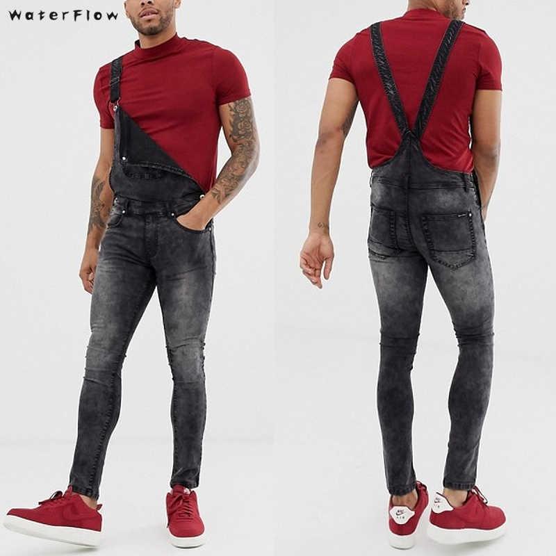 2019 męska długie proste kieszeń dżinsy najnowsze przyjazdy moda Hot ogólnie rzecz biorąc kombinezon Streetwear ogólnie rzecz biorąc pończoch spodnie S-3XL
