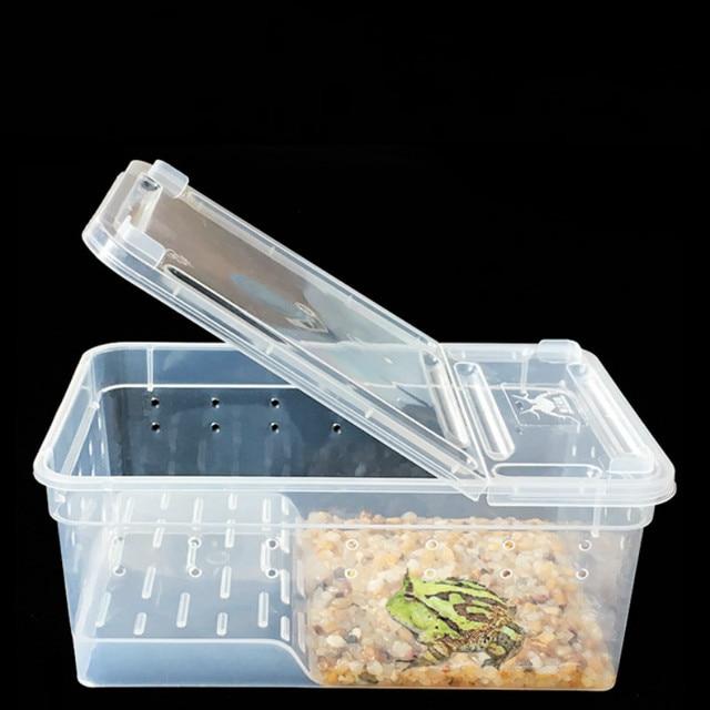 Transparent Terrarium For Small Amphibians & Reptiles  1
