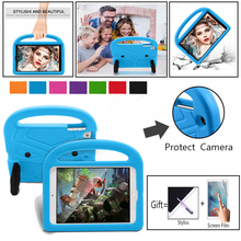 Cover Handle-Stand-Holder 2-iPad Case Portable EVA Shockproof for Apple Full-Body-Protection