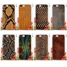 For Samsung Galaxy Note 5 8 9 S3 S4 S5 S6 S7 S8 S9 S10 5G mini Edge Plus Lite On Sale Luxury Cool Phone Case Snake Skin Texture(China)