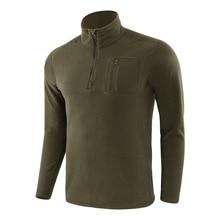 US Military Fleece Tactical Jacket Men Thermal Outdoors Pola