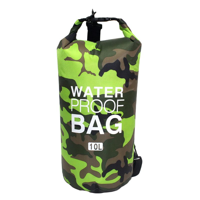 Waterproof Swimming Bag Dry Sack Camouflage Colors Fishing Boating Kayaking Storage Drifting Rafting Bag 2L 5L 10L 15L 20L 11UE