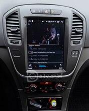 Carro android para opel insignia buick lacrosse 2009 2013 tela vertical do jogador da navegação de gps