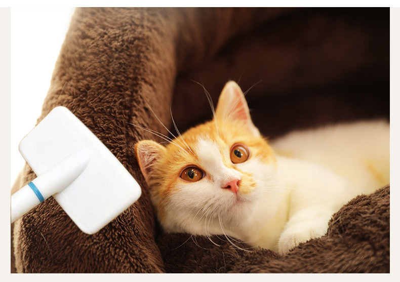 Triangle Pet bed for Small Cats Dogs Soft Nest Kennel Bed Cave House Sleeping Bag Mat Pad Tent Pets Winter Warm Cozy Beds Supply 9