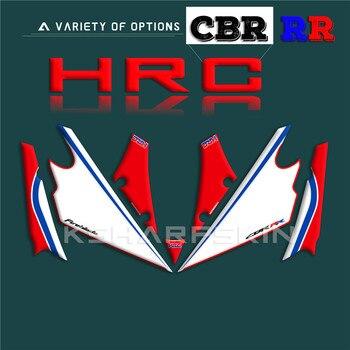 3D Gel Motorcycle Front Fairing Sticker Protector Number Board decals for Honda CBR1000RR 2017-2019 fireblade HRC cbr 1000 rr