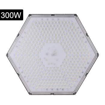 Cold white Honeycomb High Bay Light 300W 220V (Pendant Chain Type) UFO LED lamp IP65 outdoor waterproof SMD 2835 Mining lamp