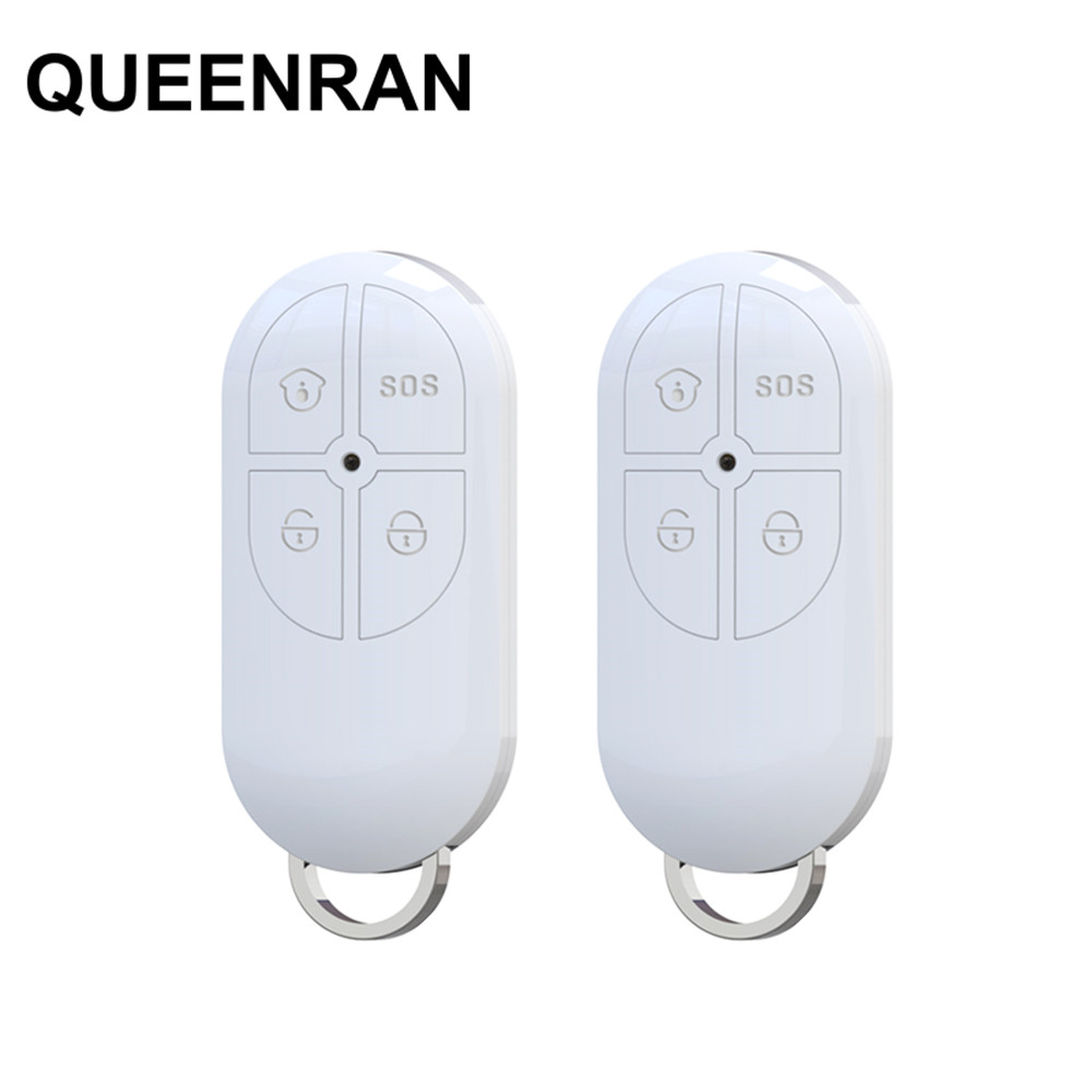 2pcs Wireless Remote Controller PB-422R 4-button Arm/Disarm/Home Arm/SOS Function for Focus ST-VGT ST-IIIB ST-VGT ST-IV Alarm