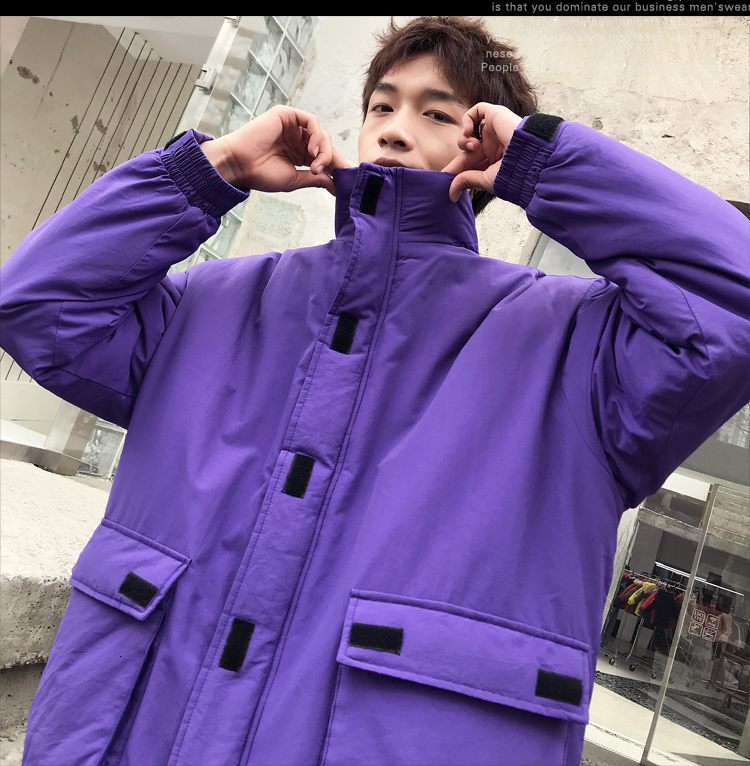 Student Winter Thick Warm Jacket Clothes