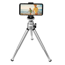 Kamera Digital Ponsel Smartphone Lipat Mini Portable Tripod Holder untuk iPhone Samsung Xiaomi Huawei Ponsel Pintar(China)