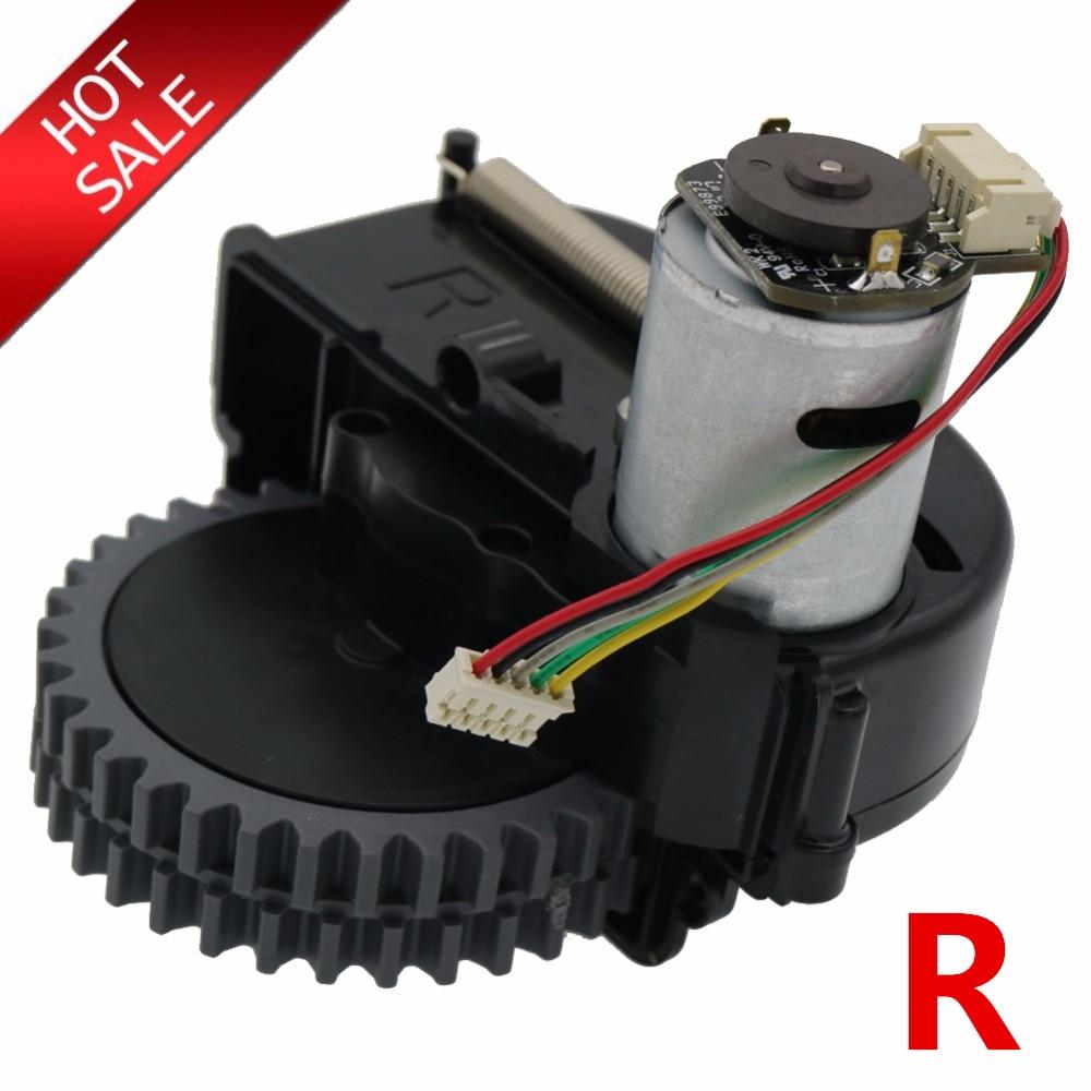 Original Right Wheel Robot Vacuum Cleaner Parts Accessories For Ilife V3s Pro V5s Pro V50 V55 Robot Vacuum Cleaner Wheels Motors