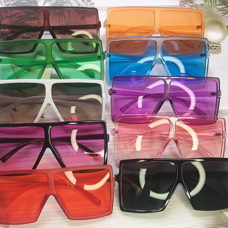 Hot DealsOversized Sunglasses Vintage Shades Square Retro Wholesale Women UV400 for Bulk Female