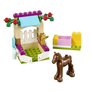 BELA 10533 Little Foal Horse Stable Building Blocks Sets Toys Compatible with Lepinblocks Friends 41089 best gift for girls image