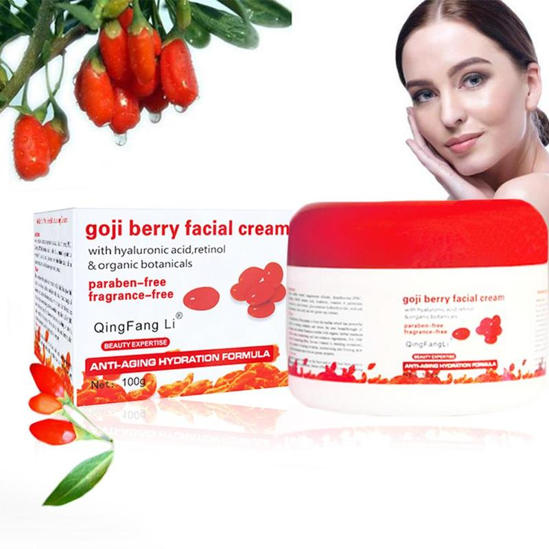 Goji Berry Face Cream Wolfberry Whitening Wrinkle Cream Moisturizing Cream Hyaluronic Acid Retinol Chinese Skin Care