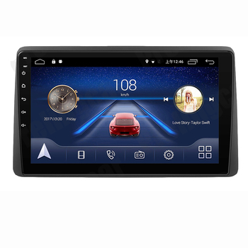 Eastereggs 2 din Android 10.1 inch Car FM Radio Multimedia Video Player WIFI Navigation GPS for Renault DACIA DUSTER 2018 2019 carrvas 2 din car multimedia player android 8 1 built in rds 7 inch hd touch screen gps navigation wifi bluetooth am fm iso