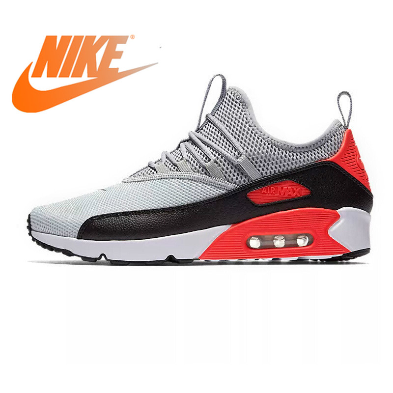 Original Authentic NIKE AIR MAX 90 EZ Rubber Men's Running Shoes Breathable Cushioning Outdoor Sports Shoes Quality New BA1745