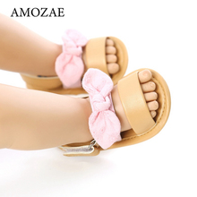 Princess Shoes Sandals Newborn Toddler Infant Baby-Girls Summer Bowknot Fashion PU 0-18M