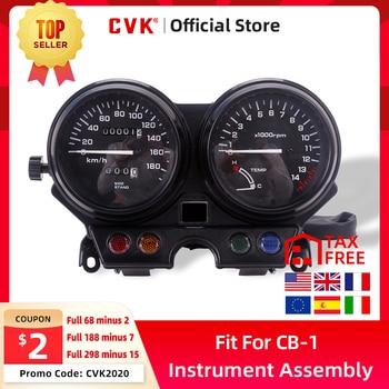 Medidor de montaje de instrumentos CVK medidor de grupo velocímetro odómetro tacómetro para HONDA CB 250 Jade250 Jade 250 CB-1 CB400F 89-90