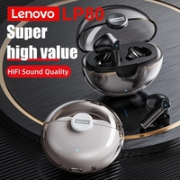 الأصلي لينوفو LP80 TWS بلوتوث 5.0 سماعة 9D HIFI الصوت سماعات لاسلكية صغيرة مع هيئة التصنيع العسكري آيفون شاومي الرياضة سماعة