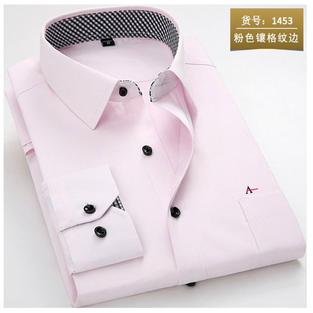 2020 reserva aramy New men shirt Long Sleeve Men Dress Shirt Fashion Male Business Formal Wear Office Working Shirts white shirt 2