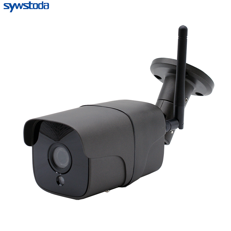 Outdoor WIFI IP Camera ONVIF 1080P Security Bullet Day/Night View Home CCTV Surveillance Cameras Two-Way Audio CamHi
