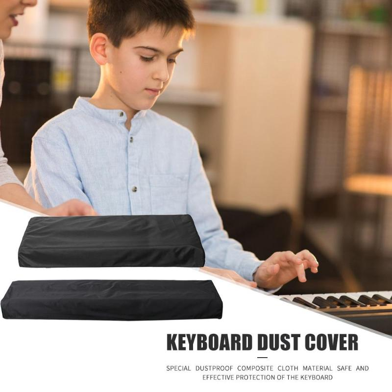 Hot Sale Electronic Piano Cover Delicate Design For 61/88 Key Electronic Digital Piano Dustproof Foldable Keyboard Cover Black