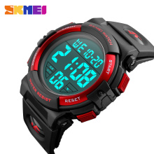 SKMEI New Sports Watches Men Outdoor Fashion Digital Watch Multifunction 50M Waterproof Wristwatches Man Relogio Masculino 1258 цены онлайн