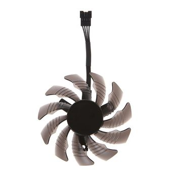 1/3Pcs 75mm T128010SU 4Pin Cooler Fan for Gigabyte AORUS GTX 1060 1070 1080 Card DC 12V image