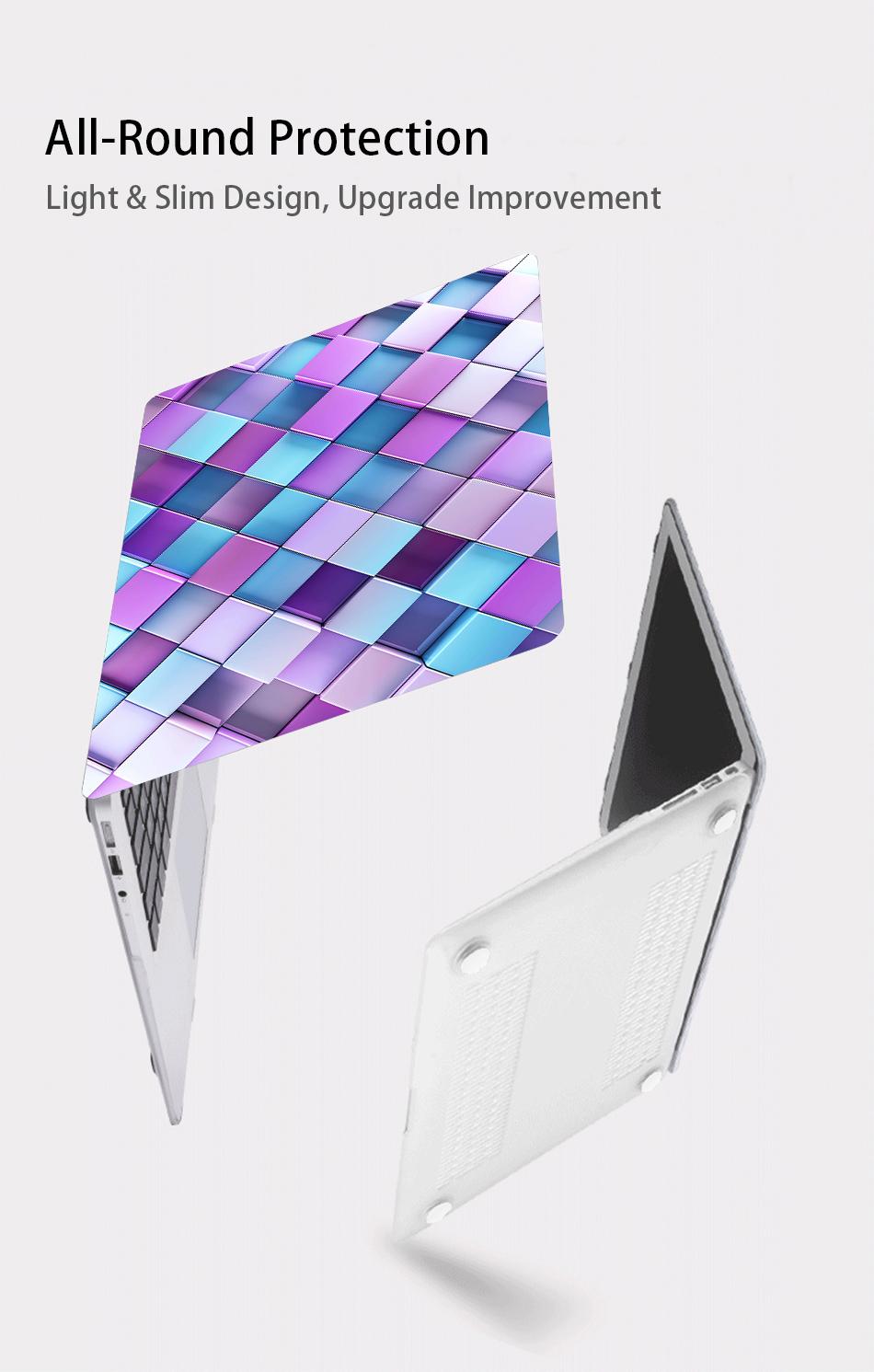 MTT Geometric Hard Case for MacBook 24